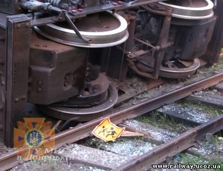 ЧП на железной дороге