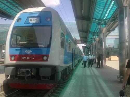 Škoda на станции Донецк