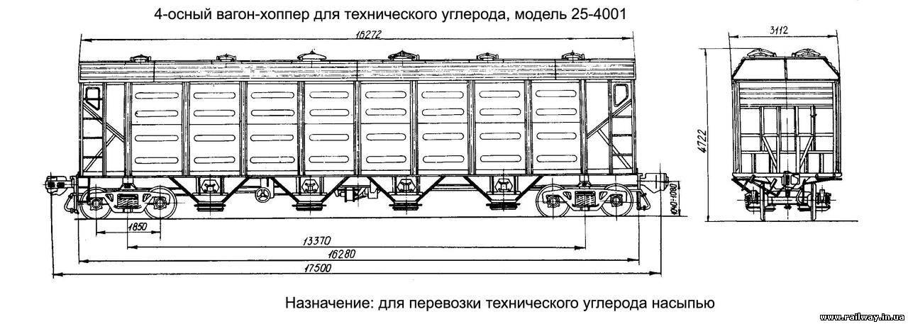 Чертежи вагонов - Фотогалерея
