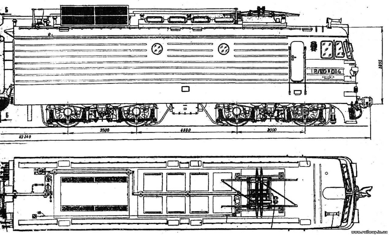 Электровоз ВЛ11  Электрические схемы электровоза