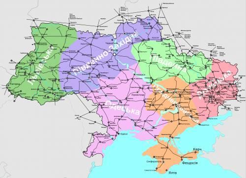 жд карта украины жд карта