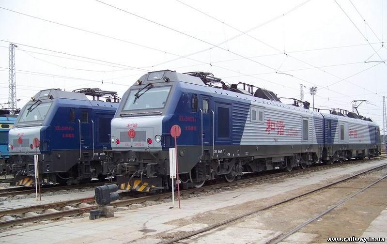 Локомотив HXD2