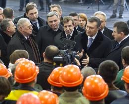 Козак и Янукович