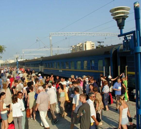 летние поезда