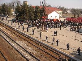 митинг на Новоалексеевке
