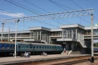 Поезд Луганск - Киев Донецкой железной дороги