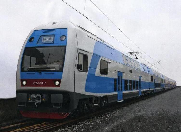 поезд Skoda Vagonka