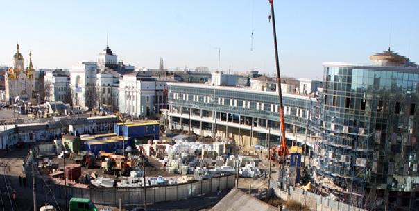 Реконструкция вокзала Донецк