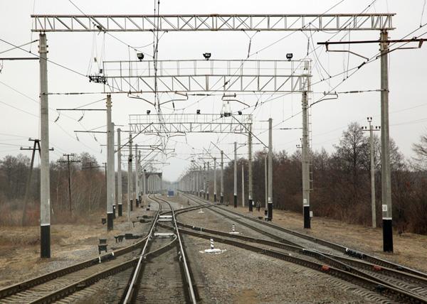 железнодорожный путь